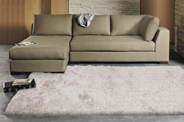 Twilight Shag Rug - Natural 145x75cm