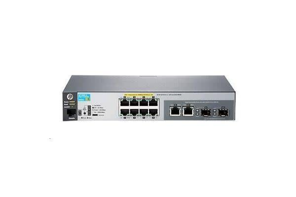Aruba 2530 8 PoE+ L2 Managed Ethernet Switch