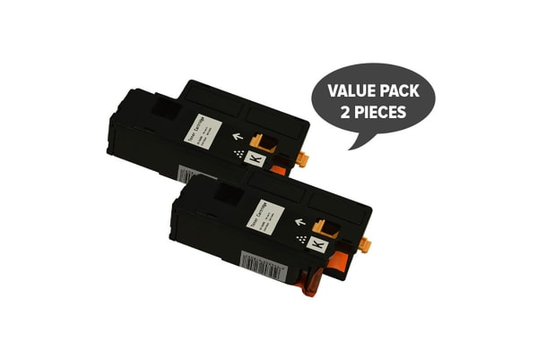 1660 1660W Black Generic Toner (Two Pack)