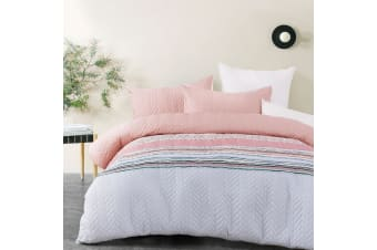 Cora Quilted Quilt Cover Set by Big Sleep