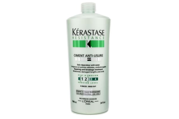 Kerastase Resistance Ciment Anti-Usure Repairing Anti-Breakage Treatment (For Weakened, Damaged Lengths & Ends (1000ml/34oz)