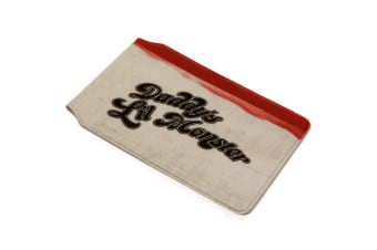Suicide Squad Daddys Lil Monster Card Holder (White/Black/Red) (10 x 7.5cm)