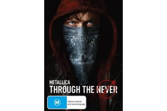 Metallica Through the Never DVD Region 4