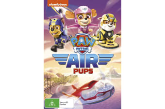 Paw Patrol Air Pups DVD Region 4