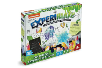 Nickelodeon ExperiMake Colourful Crystal Creations