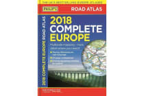 Philip's 2018 Complete Road Atlas Europe - (A4 with practical 'flexi' cover)