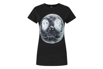 Nightmare Before Christmas Womens/Ladies Jack Moon T-Shirt (Black)