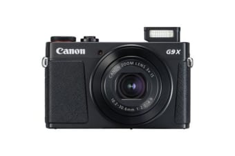 New Canon PowerShot G9X Mark II 20MP Digital Camera Black (FREE DELIVERY + 1 YEAR AU WARRANTY)