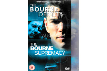 The Bourne Identity + The Bourne Supremacy - Region 2 DVD PREOWNED: DISC LIKE NEW