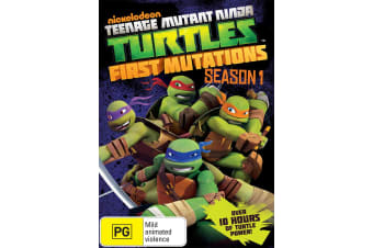 Teenage Mutant Ninja Turtles Season 1 First Mutations DVD Region 4