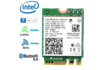 NewBee Intel 2.4G/5G 300Mbps + 1730Mbps Bluetooth 5.0 NGFF Combo Wifi Adapter - 9260NGW