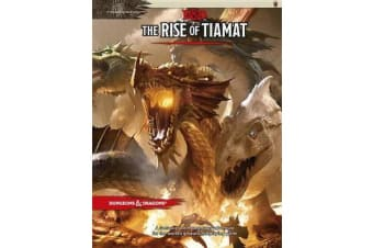 Dungeons & Dragons - Tyranny of Dragons the Rise of Tiamat (D&D Adventure)