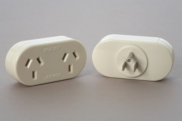 Korjo Travel Double Adapter (USA)