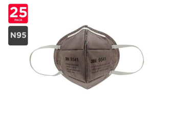 3M N95 9541 N95 Particulate Respirator Mask (25 Pack)
