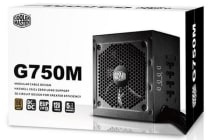 Coolermaster G750M 80+ Bronze, Semi-Modular, Flat Cables, 100% Real Power, Single Rail ATX PSU 5 Years Warranty