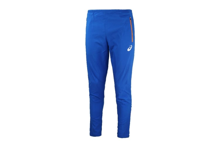 ASICS Men's Track Pants (Blue, Size S)