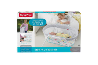 Fisher Price Stow and Go Travel Bassinet