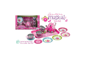 Schylling - Musical Tin Tea Set