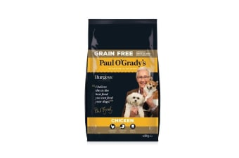 Burgess Paul O'Grady's Grain Free Chicken Dog Food (May Vary) (10kg)