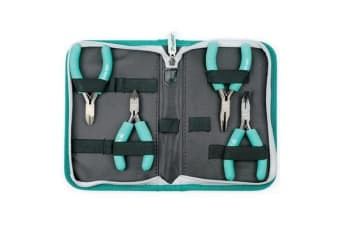 ProsKit 4PCS Ergonomic ESD Safe Plier And Cutter Kit / 2 Years Warranty