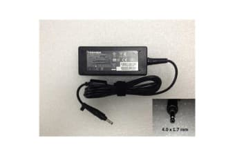 Toshiba OEM Notebook Power Adapter/Charger, 19v 2.37a 45W  (4.0x1.7mm)