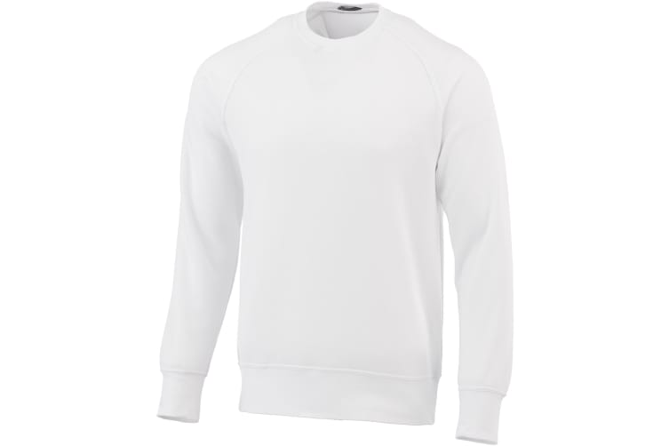 Elevate Kruger Crew Neck Sweater (White) (XL)