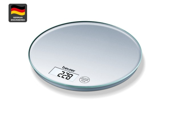 Beurer Digital Round Kitchen Scale (KS28)