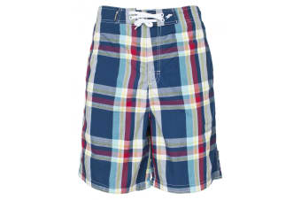 Trespass Mens Bigeye Swimming Shorts/Trunks (Navy Check)