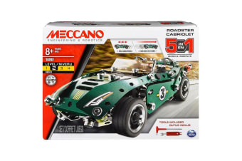 Meccano Multi-Model 5 Set - Roadster Set