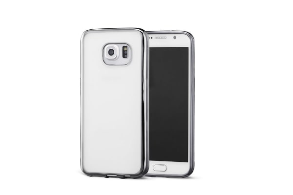 Samsung Galaxy S7 Slim Bumper Case (Clear)