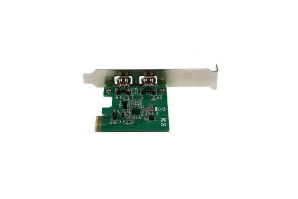 STARTECH 2 Port 1394a PCI Express FireWire Card - PCIe FireWire Adapter - 1394a FireWire PCI Express - Dual Port PCIe 400 Card