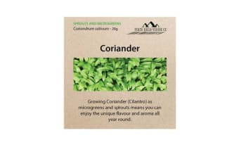 Perth Hills Veggie Co Microgreen Seeds Coriander