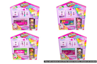 Happy Places Shopkins Rainbow Beach Surprise Me Pack S5 (Assorted)