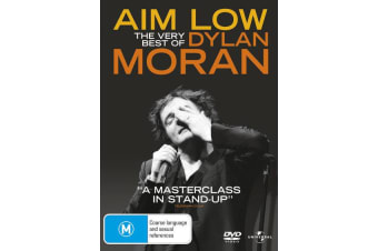 Dylan Moran Aim Low The Very Best of Dylan Moran DVD Region 4