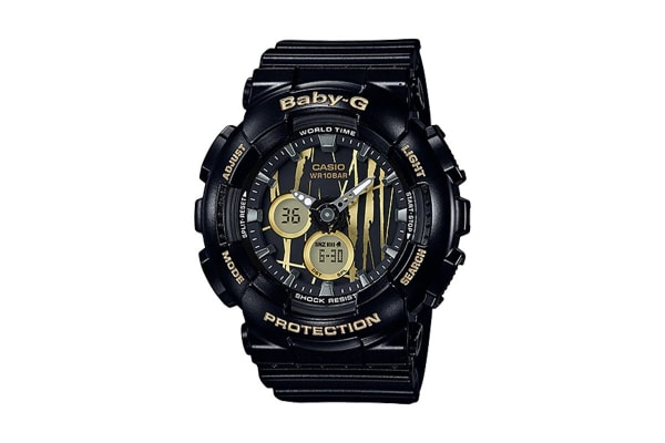 Casio Baby-G Ana-Digital Watch - Black (BA120SP-1A)