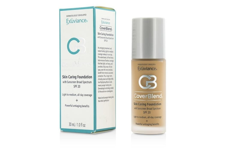 Exuviance CoverBlend Skin Caring Foundation SPF20 - # Desert Sand 30ml