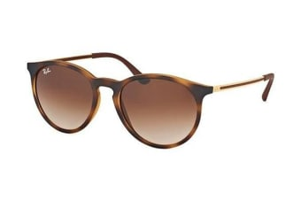 Ray-Ban RB4274 53mm - Havana Rubber (Brown Shaded lens) Unisex Sunglasses