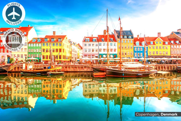 EUROPE: 19 Day Northern Explorer Tour Including Flights for Two