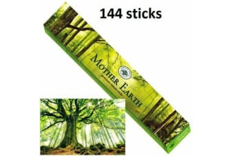 GREEN TREE MASALA Mother Earth INCENSE 144 STICKS