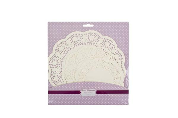 Sweet Creations Paper Doilies 18pk