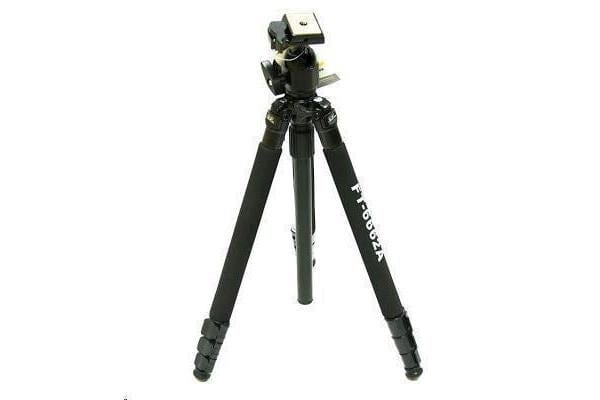 WeiFeng WT-6662A Professional Ball head Tripod Capture a huge range of angles with this tripod