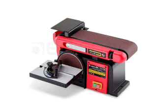 NEW BAUMR-AG 400W Belt Disc Sander Bench Mount Grinder Linisher Polisher Buffer