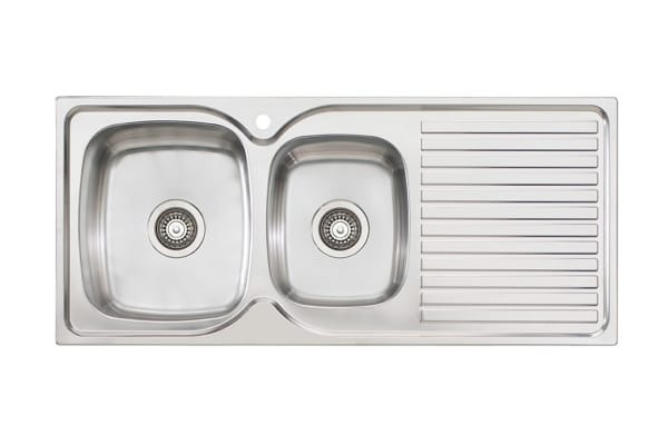 Oliveri Endeavour 1 & 3/4 Bowl Topmount Sink With Drainer (EE11-1TH)