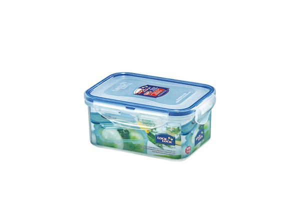 Lock & Lock Classic Rectangular Short Container 600ml