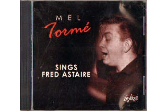 MEL TORME : SINGS FRED ASTAIRE BRAND NEW SEALED MUSIC ALBUM CD - AU STOCK