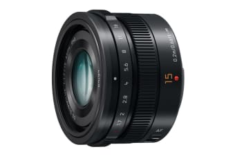 Panasonic Leica DG Summilux 15mm f/1.7 ASPH. Lens (Black)