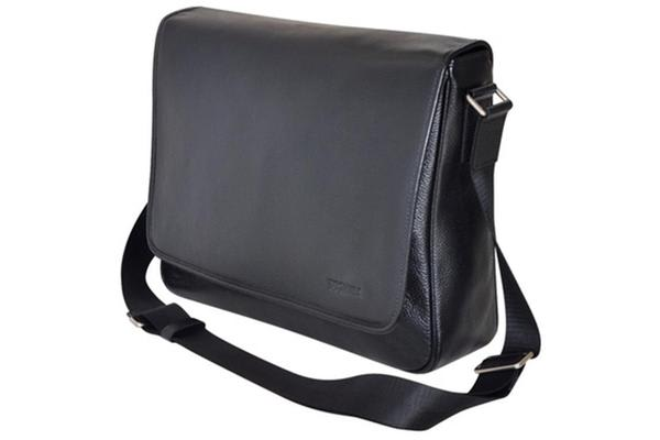 "Toshiba 13.3"" Premium Leather Messenger Case"