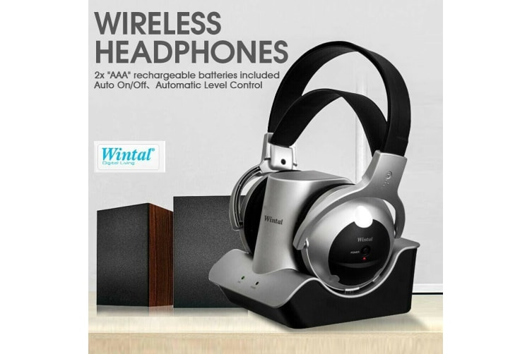 Wintal Wireless Headphones Noise Cancelling Headset Bass Stereo Earphone New
