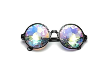 Kaleidoscope rainbow glasses prism refraction goggles for festivals 65