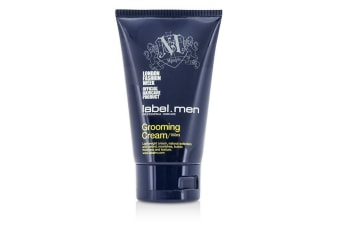 Label.M Men's Grooming Cream (Lightweight Cream, Natural Definition and Control, Nourishes, Builds Thickness and Texture) 100ml